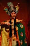 china fan iron opera princess Στοκ Φωτογραφία