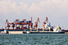 China fangcheng port Royalty Free Stock Photos
