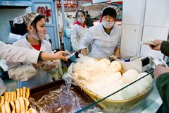 China fast foods in Harbin Royalty Free Stock Image
