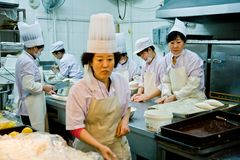 China fast foods in Harbin Royalty Free Stock Photos
