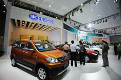 China FAW pavilion. China First Automobile Works Stock Photography