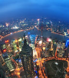 China financial district cityscape. Stock Photography