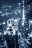 China financial district cityscape. Royalty Free Stock Image