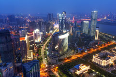China financial district cityscape. Stock Images