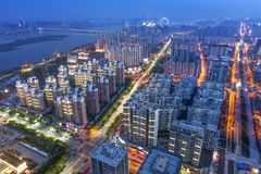 China financial district cityscape. Royalty Free Stock Photo