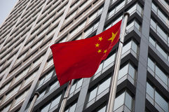 China flag Royalty Free Stock Photography