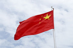 China flag Stock Images