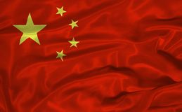 China Flag 3 Stock Images