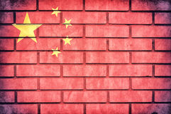 China flag Stock Photos