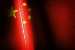 China Flags images Stock Image