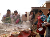 China Folk Culinary Masters In Cooking Royalty Free Stock Photos