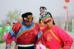 China:Folk dance Royalty Free Stock Photography