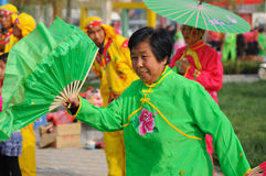 China:Folk dance Stock Images