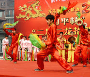 China folk performances Royalty Free Stock Photos