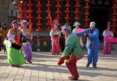 China folk performances Stock Photo