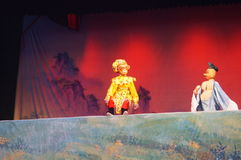 China folk puppet show Royalty Free Stock Images