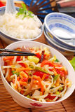 China food Stock Photo