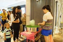 China food: cotton candy Stock Photos