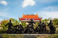 China formte Götter. Lizenzfreie Stockbilder