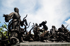 China formte Götter. Stockfotos