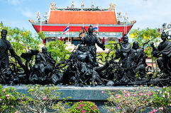 China formte Götter. Lizenzfreie Stockfotos