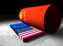 China fuerte y de gran alcance libre illustration