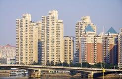 China Fuzhou urbano fotos de stock royalty free