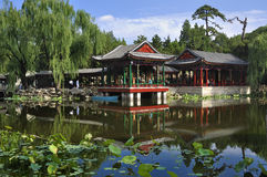 China Garden   Royalty Free Stock Photo
