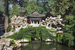 China Garden, Beihai Park ,Beijing Royalty Free Stock Photography
