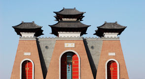 China Gate Stock Images