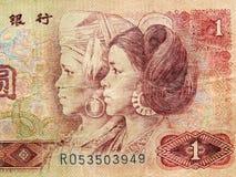 China-Geld Stockbild