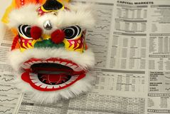 China-Geschäft Lizenzfreie Stockbilder