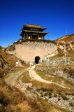The China Great Wall. The Yanmeng passes Is an important passes on the Great Wall In northern China.it was builted in 1372 .Fighting occurred 1,000 times in Royalty Free Stock Photos