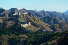 China Great Wall in Beijing Stock Photos