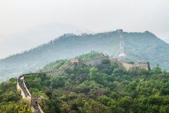 China, Great Wall of China. Mutianyu Royalty Free Stock Images