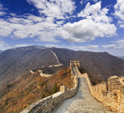 China Great Wall Horizon Range Up Royalty Free Stock Images