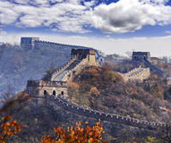 China Great Wall Tele leaves Stock Photography