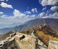 China Great Wall Tower Up Range Royalty Free Stock Photo