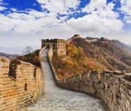 China Great Wall Up Yellow Royalty Free Stock Images