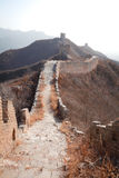 China great wall of  in winter Royalty Free Stock Photography