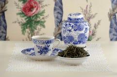 China green tea, close-up Royalty Free Stock Image