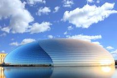 China-großartiges nationales Theater Stockfotografie