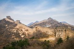 China, Grote Muur van China Stock Foto's