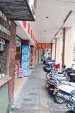 China guangdong city street Royalty Free Stock Photography