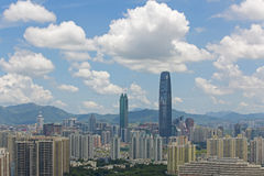 China Guangdong Shenzhen cityscape Stock Photography