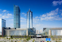 China Guangdong Shenzhen Civic Center area of ??the city scenery Royalty Free Stock Photography