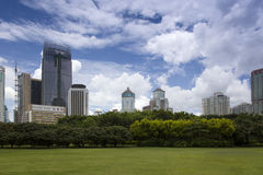 China Guangdong Shenzhen Futian Central Park scenery Stock Photography