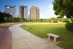 China Guangdong Shenzhen Futian, Shenzhen Central Park scenery Royalty Free Stock Photo