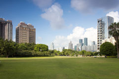 China Guangdong Shenzhen Futian, Shenzhen Central Park scenery Stock Images