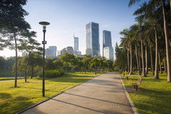China Guangdong Shenzhen Futian, Shenzhen Central Park scenery Stock Photo